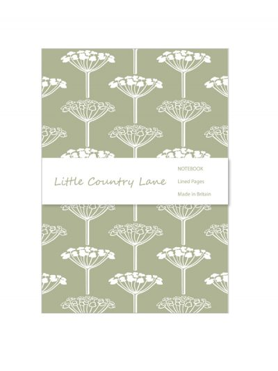 notebooks – umbels bf green